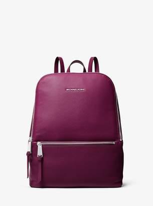 MICHAEL Michael Kors Toby Medium Pebbled Leather Backpack