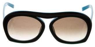 Selima x June Ambrose Hi Brow Tinted Sunglasses