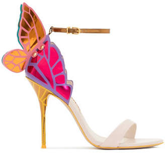 Sophia Webster Chiara 3D Butterfly Wing Leather Sandals