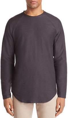 Vitaly Scalloped Hem Crewneck Shirt