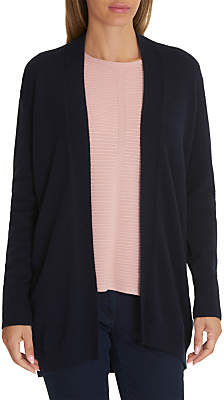 Betty Barclay Long Knitted Cardigan, Dark Sky