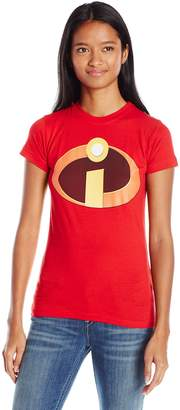 Disney Women's The Incibles Logo Graphic T-Shirt