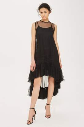 Womens **Flamingo Shift Dress By Lace & Beads - Black