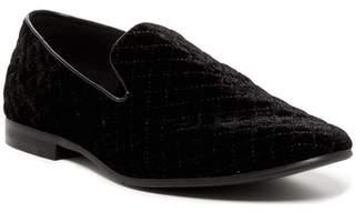 Giorgio Brutini Chatwal Quilted Velvet Loafer