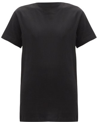 Hanes X Karla - The Classic Cotton Jersey T Shirt - Womens - Black