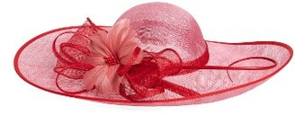 Women's Nordstrom Sinamay Fascinator Derby Hat - Pink $59 thestylecure.com