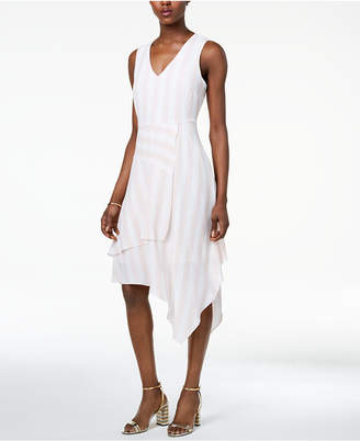 Vince Camuto Asymmetrical Fit & Flare Dress