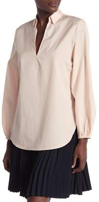 Vince Swing Front Pullover Blouse