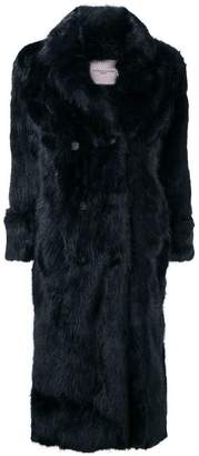 Urban Code Urbancode double breasted fur coat