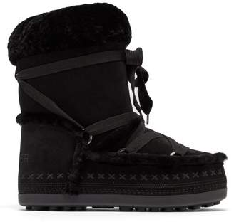 Bogner Tignes Shearling Snow Boots - Womens - Black