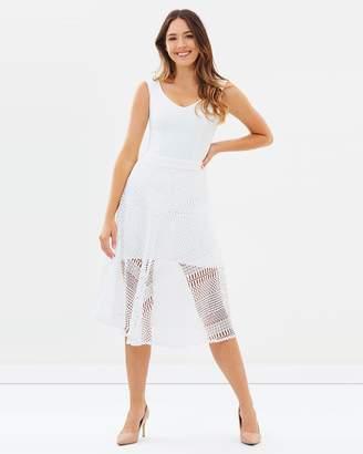 Flora Lace Skirt