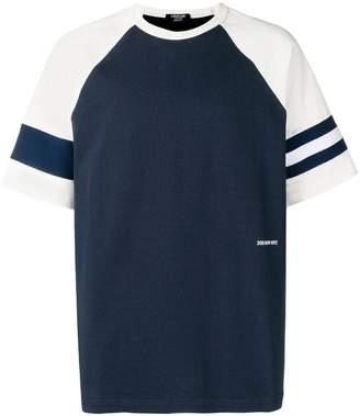 Calvin Klein contrast short-sleeve T-shirt