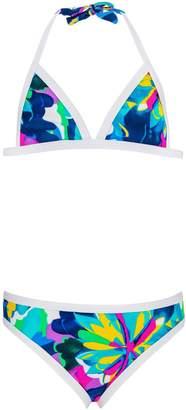 Snapper Rock Little Girls' Triangle Bikini