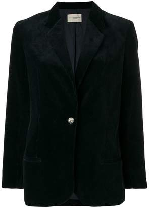 Holland & Holland corduroy fitted blazer