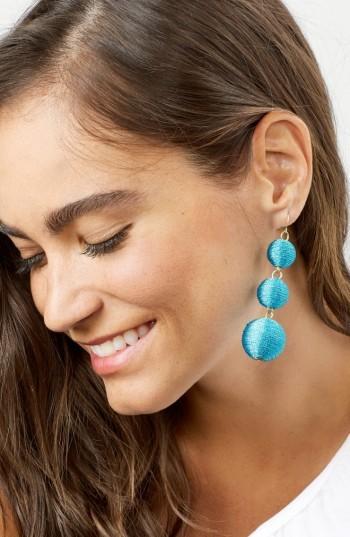 Women's Baublebar Shimmer Crispin Drop Earrings 3