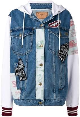 McQ patchwork jean jacket