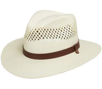 Stetson Ultrafino Digger Vented Straw Outback Hat 7 3/8