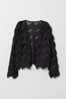 H&M Cardigan with Fringe - Black