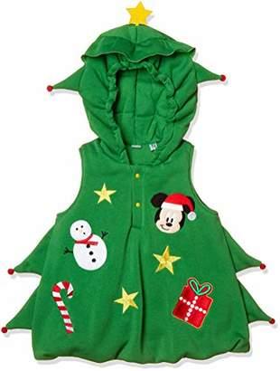 Disney (ディズニー) - [ディズニー] ディズニークリスマスツリーベスト 332109044 ボーイズ グリーン 日本 100 (日本サイズ100 相当)