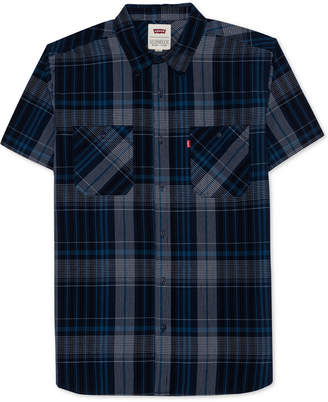 Levi's Men's Capetown Plaid Poplin Shirt