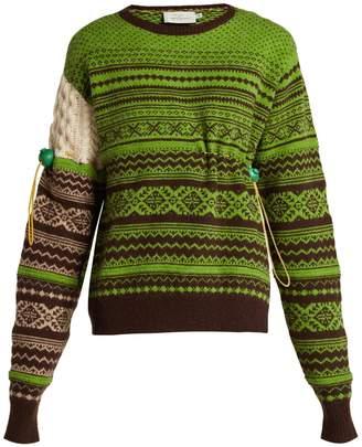 Preen by Thornton Bregazzi Moira Fair Isle-knit wool-blend sweater