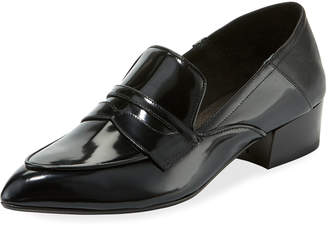 Veronica Beard Corban Shiny Patent Loafers