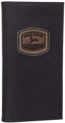 John Deere Men's Historical Logo Checkbook Holder
