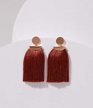 Lou & Grey Stella & Ruby Tassel Lover Earrings