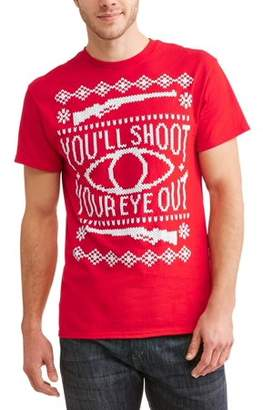 Holiday Big Men's You'll Shoot Your Eye Out Novelty Tee