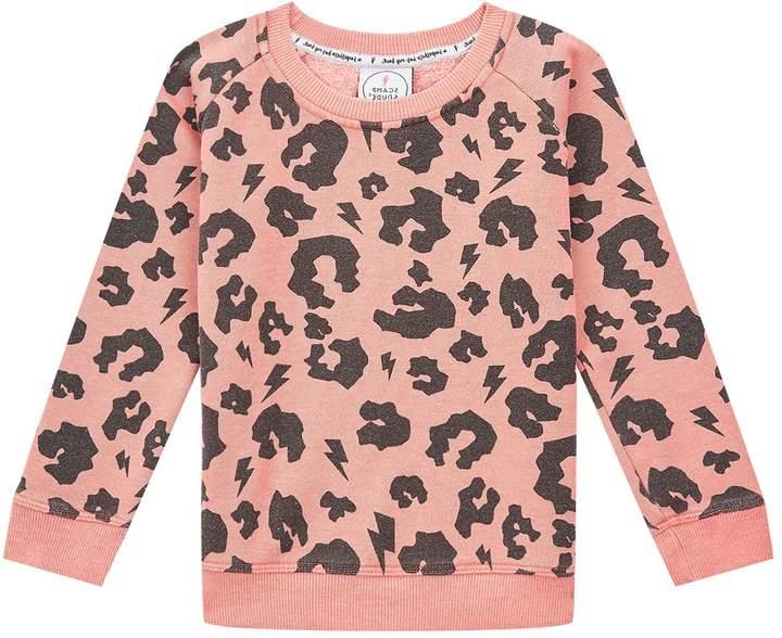 Scamp & Dude Leopard Print Sweatshirt