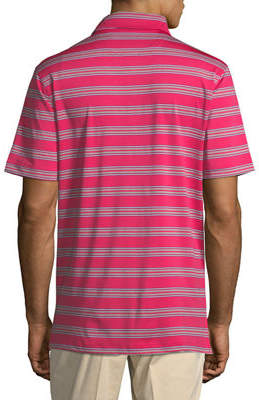Bobby Jones XH20 Wren Heather Striped Polo Shirt