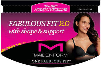 Maidenform One Fabulous Fit 2.0 Tailored Underwire T-Shirt Demi Bra-Dm7543
