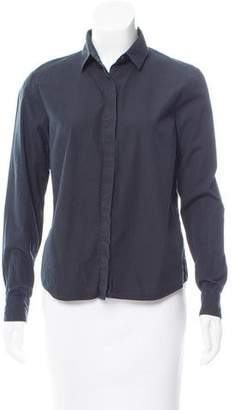 Dries Van Noten Collared Button-Up Top