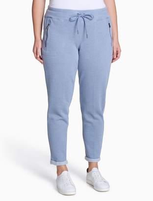 Calvin Klein plus size performance zip pocket pants