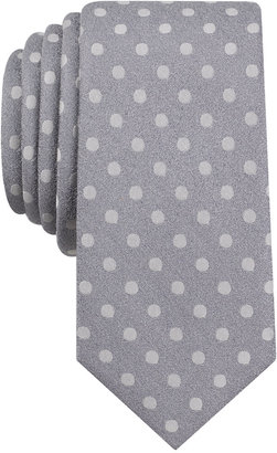 Bar Iii Men's Bayberry Dot Slim Tie, Created for Macy's $55 thestylecure.com