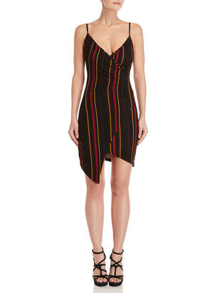 Almost Famous Stripe Envelope Dress
