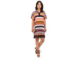 Kensie Noisy Stripes Dress KS5K7944 Women's Dress