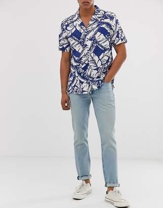 Levi's 511 slim fit low rise jeans in lemon subtle adapt light wash