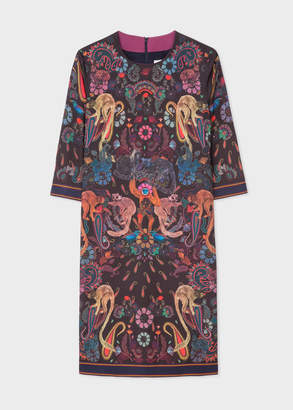 Paul Smith Women's 'Monkey' Print Shift Dress