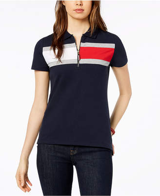 Tommy Hilfiger Striped Short-Sleeve Polo, Created for Macy's