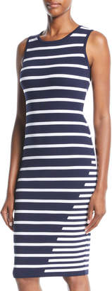 John & Jenn Gis Striped Bodycon Dress
