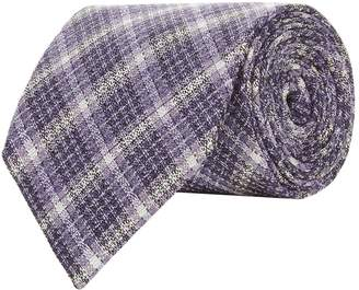 Tom Ford Woven Check Tie