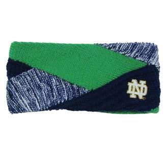 NCAA Zoozatz Women's Notre Dame Fighting Irish Criss Cross Headband