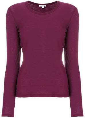 James Perse classic fitted top