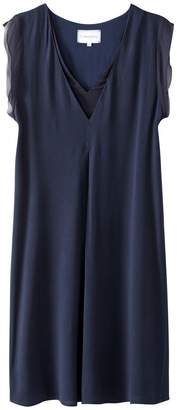 Express SUD Straight Dress with Ruffled Sleeves