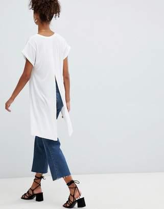 Glamorous dip back t-shirt