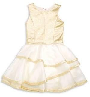 Zoe Girl's Addison Layered Dress