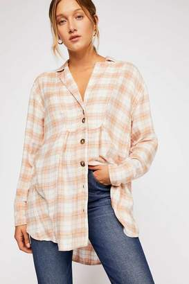 All About The Feels Plaid Buttondown