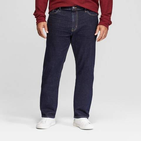 Goodfellow & Co Men's Tall Athletic Fit Jeans - Goodfellow & Co Rinse Wash