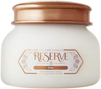 ASPEN BAY Fire Scented Frosted Jar Candle